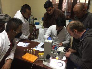 DNA barcoding training underway at National Biodiversity Centre, Serbithang.